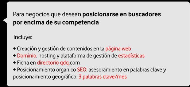 marketing digital para empresas: web sencilla