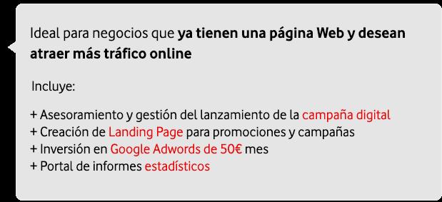 marketing digital para empresas: web posicionamiento