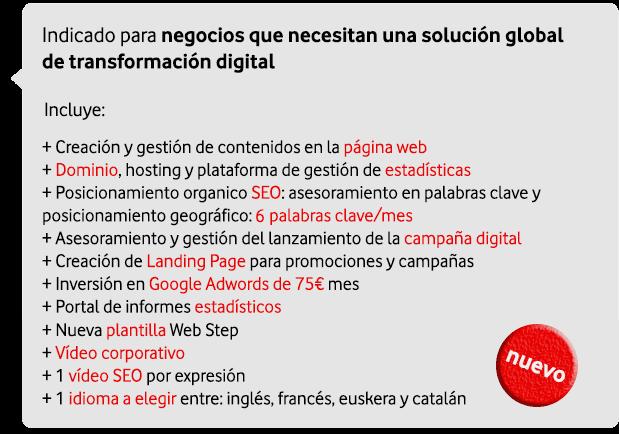 marketing digital para empresas: web buen posicionamiento